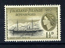 FALKLAND ISLANDS DEPENDENCIES 1954 DEFINITIVES 1½d G28a  MNH