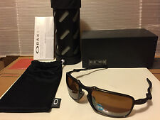 NEW OAKLEY X-Metal Badman - Pewter w/ Tungsten Iridium Polarized, OO6020-02