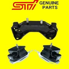GENUINE SUBARU IMPREZA WRX STi HEAVY DUTY GROUP N ENGINE GEARBOX MOUNT KIT 5SP
