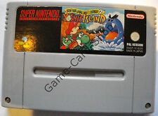 Snes-super mario world 2-yoshi 's Island-seulement module-d' occasion