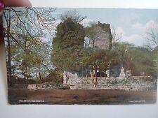 Rare Vintage Postcard MULGRAVE OLD CASTLE T Watson, Lythe Franked & Stamped 1905
