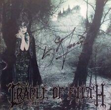 Cradle Of Filth - Dusk & Her Embrace Signed Autographed Cd