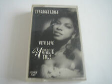 CASSETTE NATLIE COLE UNFORGETTABLE WITH LOVE