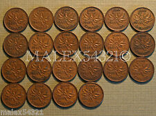 NICE 1940 TO 1960 PENNY SET (22 COINS) COPPER         FREE $HIPPING IN CANADA!