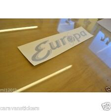 STERLING Europa Caravan Name Side Stickers Decals Graphics - PAIR