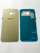 Samsung GALAXY s6 SM g920f COVER POSTERIORE COVER POSTERIORE RETRO ORO incl. colla