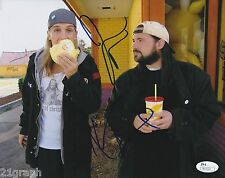Jason Mewes Kevin Smith Signed 8x10 w JSA COA #N23121 +PROOF Jay and Silent Bob