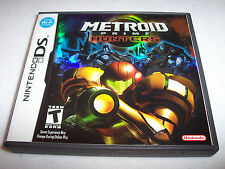 Metroid Prime Hunters Nintendo DS Lite DSi XL 3DS 2DS w/Case and Manual