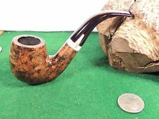 SIMPLY AMAZING GBD DECOR GRADE GRAINED 3/4 SWAN BENT BIG BILLARD WHAT A STEM