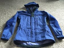 Patagonia Women's Small Waterproof Hard Shell Jacket - Solid Blue/Periwinkle