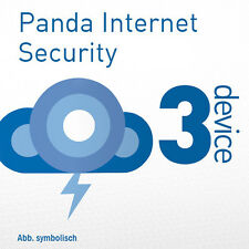 Panda Internet Security 3 PC 2017 VOLLVERSION oder Upgrade 2016 Multi Device