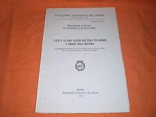 accademia lincei/british academy i celti in ita e inglese 1978