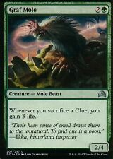 4x Graf Mole | NM/M | Shadows over Innistrad | Magic MTG