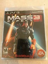 Mass Effect 3 (Sony PlayStation 3, 2012) PS3 USED SEALED