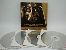 Star Wars | Trilogie IV - VI | Vierfachalbum | Laserdisc PAL Deutsch