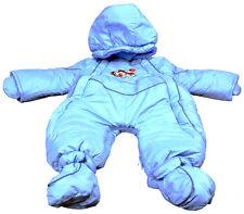 50% Reduziert Gr. 68 Schneeanzug Baby/ Kleinkinder Hellblau,  mit Motiv Auto