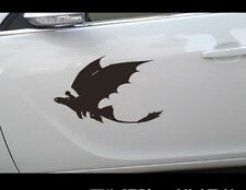 How to Train your dragon Car Door Sticker Vinyl Decal Hot Anime Cartoon 25cm