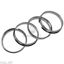 4 Bagues de centrage Aluminium 74,1 72,6 pour BMW E81 E82 E36 E46 E60 E61 E90