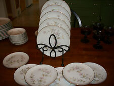Set of 6 Bread plates & 4 Luncheon Kiku by Yamaka made in occupied Japan-MINT
