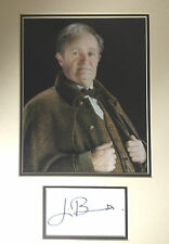JIM BROADBENT - HARRY POTTER ACTOR - SIGNED COLOUR PHOTO DISPLAY