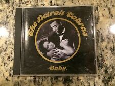 "THE DETROIT COBRAS ""BABY"" 2005 BLOODSHOT RECORDS OOP CD JOEY MAZZOLA FROM SPONGE"