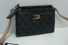 GUESS Woman's XBody Messenger Mini Bag *Coal Multi w/G Print *Shoulder Purse