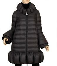 "NEW MONCLER ""PACHELLE"" GUNMETAL GOOSE DOWN STYLISH ZIPPER WINTER COAT 5/US12/14"