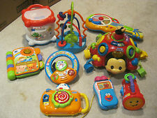 LOT OF BABY/TODDLER EDUCATIONAL TOYS LEAP FROG, VTECH PLUS MORE