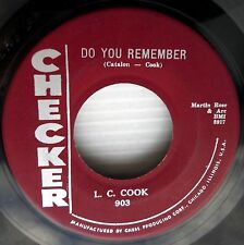 L.C. COOK do you remember blue tears SAM's younger brother SOUL Popcorn 45 w5217