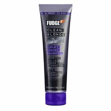 FUDGE CLEAN BLONDE VIOLET TONING SHAMPOO 300ML - FREE DELIVERY