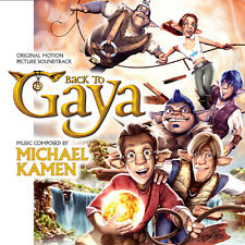 BACK TO GAYA - COMPLETE SCORE - LIMITED 1000 - MICHAEL KAMEN