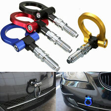 Front Rear Racing Tow Towing Hook Trailer T2 JDM E46 E81 E30 E36 E90 E91 E92 E93