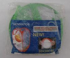 Generation Easy Open Green College Dorm Travel Mesh Dirty Clothes Hamper New