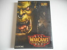 JEU CD-ROM PC/MAC - WARCRAFT REIGN OF CHAOS - COMPLET