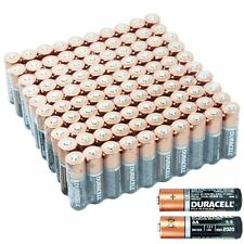 50 Pack Count Duracell Coppertop MN1500 AA Batteries Expiration Date 2021