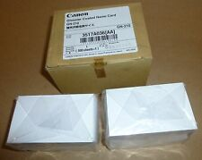 500 Sheets (56 x 92mm) Canon glossy business card White (3517A036)