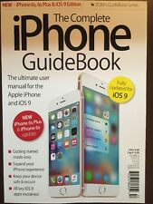 Complete iPhone Guidebook Ultimate User Manual Apple iOS 9 2015 FREE SHIPPING JB