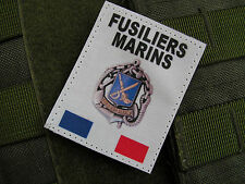 Patch Velcro - FUSILIERS MARINS FRANCE - marine nationle - format GORE-TEX F2...