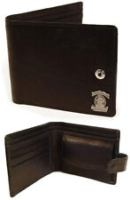 Jack Daniels: Mr Jack Leather Bi Fold Wallet With Coin Pocket - New & Official