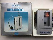 Sony Walkman WM-4, boxed. Needs new belts or repair