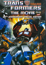 TRANSFORMERS : THE MOVIE - Animation (1986) 20th Anniversary Edition DVD *NEW