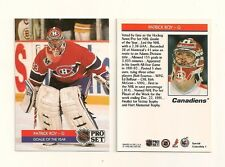 1992 Pro Set Special Collectible Card 1 Patrick Roy Montreal Canadiens