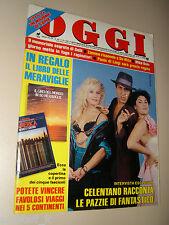 OGGI=1987/40=ADRIANO CELENTANO=HEATHER PARISI=MARISA LAURITO=LUCA GOLDONI LIBRO=
