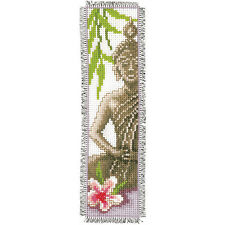 Lady Buddha  : Vervaco Counted Cross Stitch Kit : Bookmark -  PN0143911