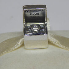 New Authentic Pandora Charm 791188D 2014 Limited Edition Club Bead Bag Included
