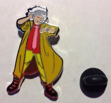 Doc Brown Lapel Pin Back To The Future Marty McFly 2 Two New Universal Studios