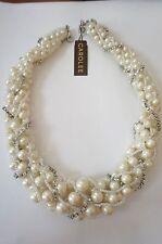NWT Carolee Pearls Bridal Necklace