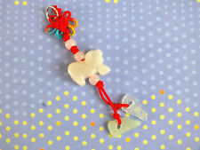 CHINESE JADE ZODIAC ANIMAL SIGN - GOAT PENDANT NECKLACE NEW YEAR BIRTHDAY PARTY
