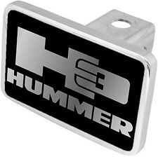 New Hummer H3 Mirrored Logo Tow Hitch Cover Plug