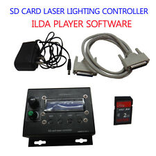 Professional SD CARD Laser lighting controller box ild ILDA player software DJ